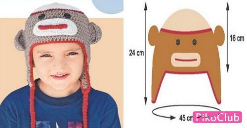 обезъянка-шапка3ст.