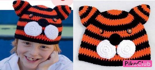 шапка-тигр ф.1 ст