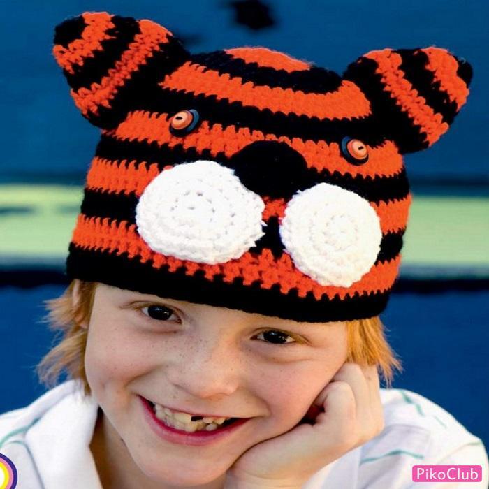 шапка-тигр миниат. ст