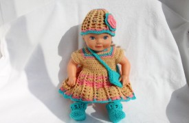 Ажур.платье миниатюра
