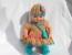 Ажурное платье крючком для куклы Кати