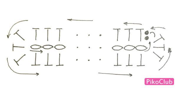 чехол рыбка ст.схема дна чехла фото3.1